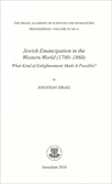 Jewish Emancipation in the Western World (1780–1860): What Kind of Enlightenment Made It Possible